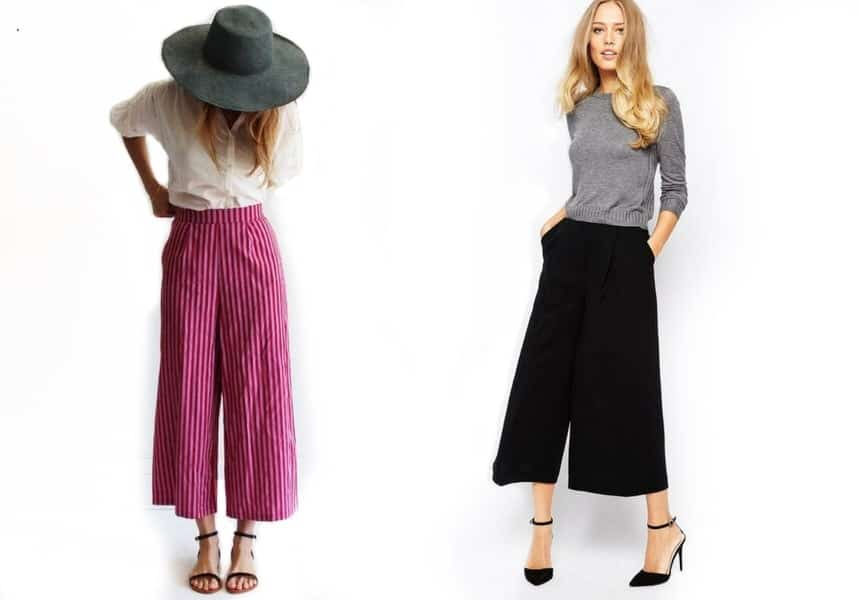 732ac72d2f Pantaloni culotte: la guida completa per completare il tuo stile ...