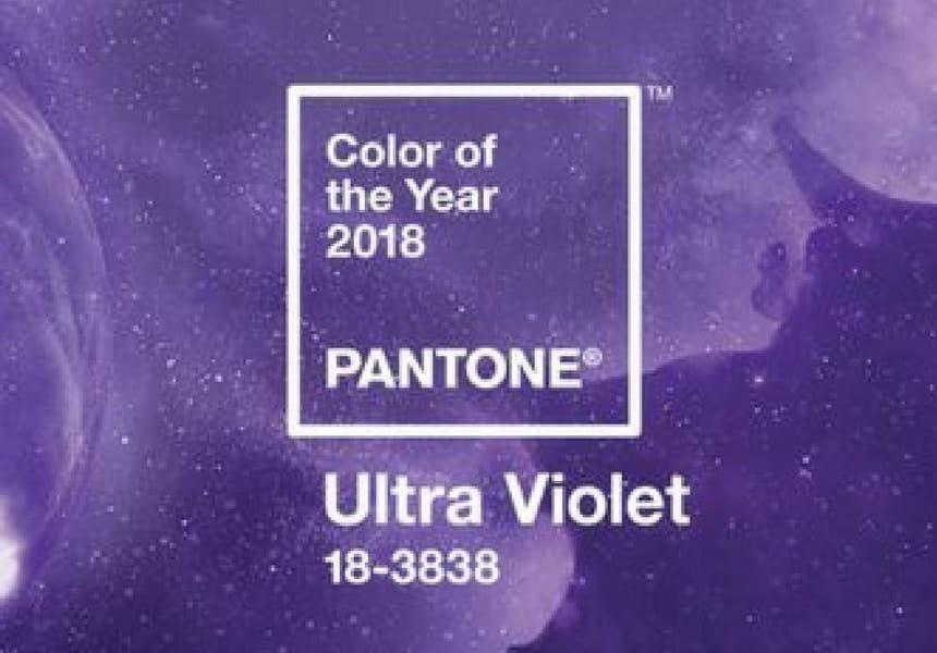 Il colore Pantone dell'anno Ultra Violet