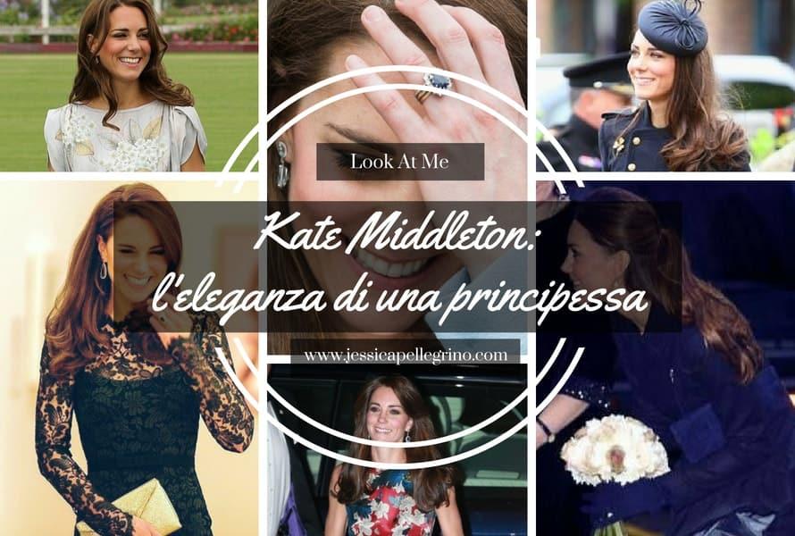 Kate Middleton l'eleganza di una principessa
