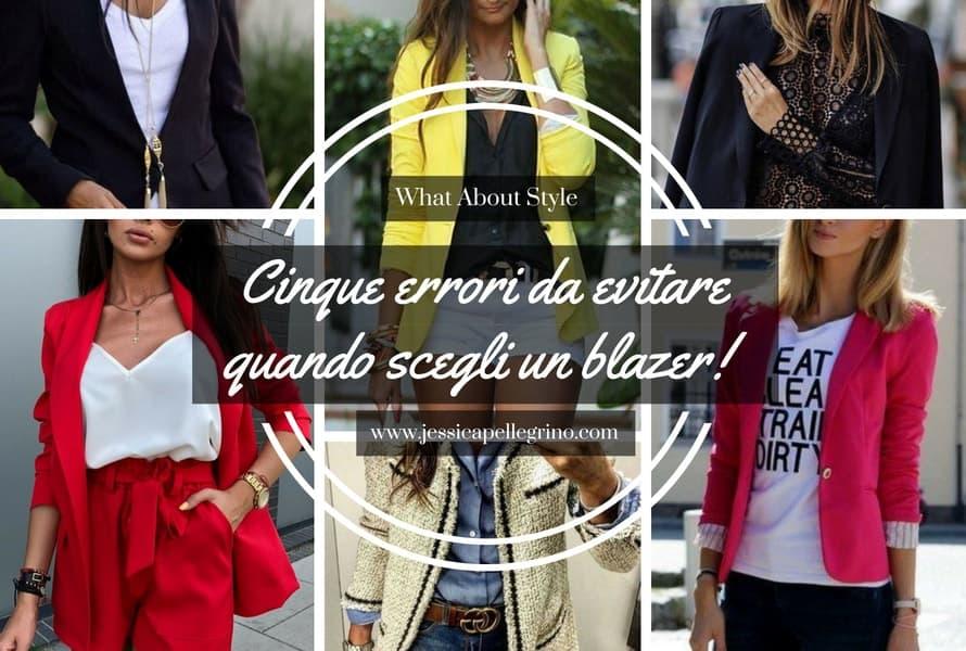 Cinque errori da evitare quando scegli un blazer
