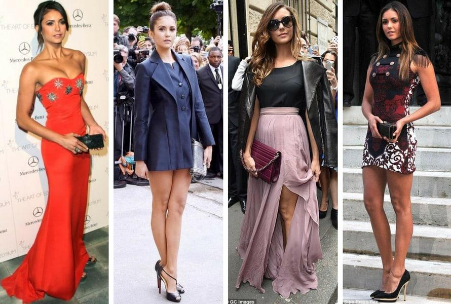 Nina Dobrev e la sua semplicità fashionista