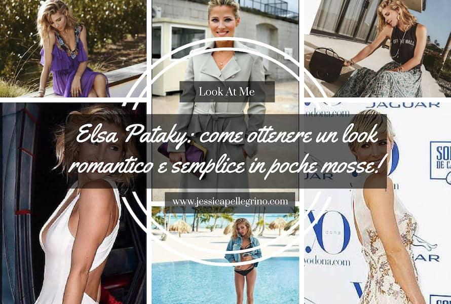 Elsa Pataky: come ottenere un look romantico e semplice in poche mosse