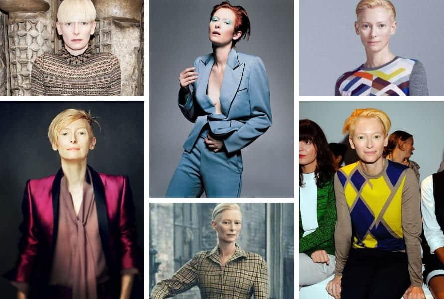 Tilda Swinton la guida completa per un look creativo e mai banale (1)